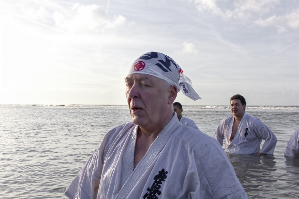 Nieuwjaarsduik Wijk aan Zee 2016
